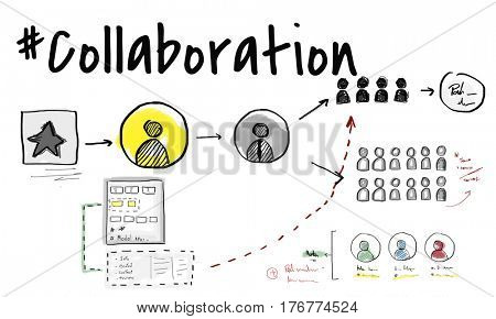 Teamwork Collaboration Organization Brainstorming Goals