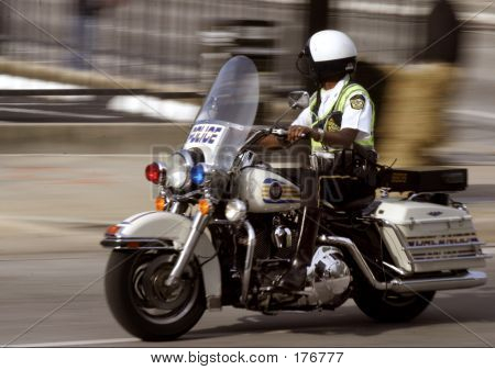 Police Motorcyclist
