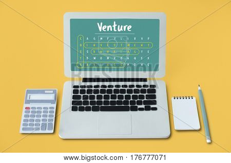 Business Strategy Investment Venture Illustration