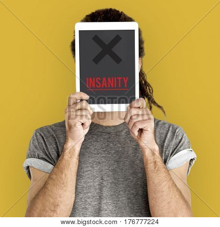 Insanity Mad Psycho Crazy Irresponsibility Mental Health