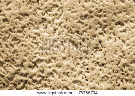 abstract natural background of texture of friable cream snow