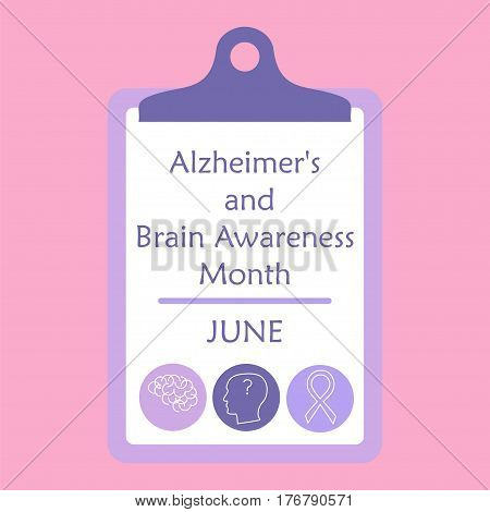 Alzheimer Disease And Brain Awareness Month