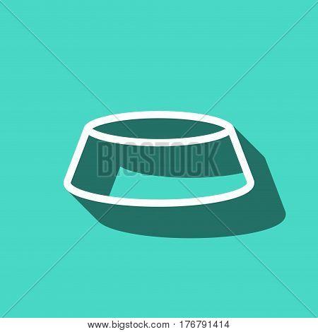bowl icon stock vector illustration flat design