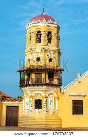 Santa Barbara Church Tower