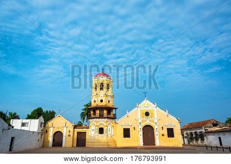 Beautiful Church In Mompox