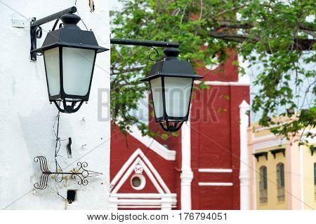 Pair Of Street Lights