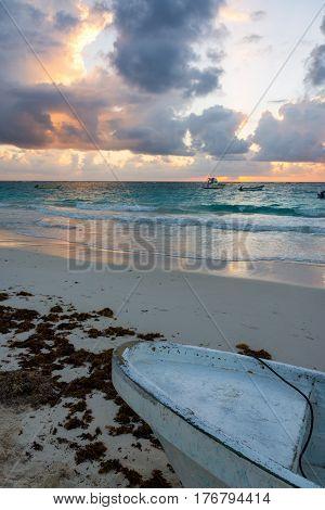 Caribbean Sunrise View