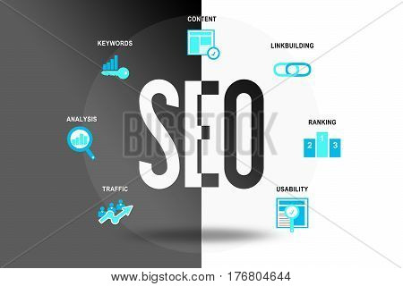 SEO Search Engine Optimization Website Homepage Online Marketing