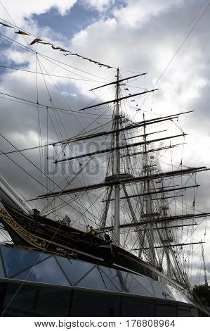 the cutty sark in greenwich in london