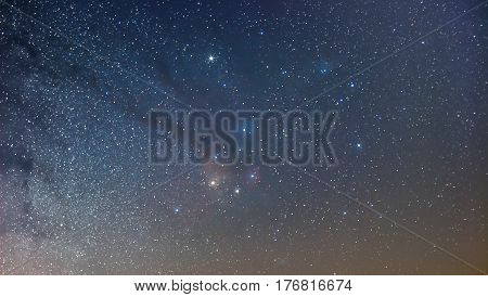 Antares Region Of The Milky Way, Wide Angle View