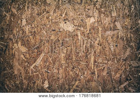 Oriented Strand Board Background Of Texture.