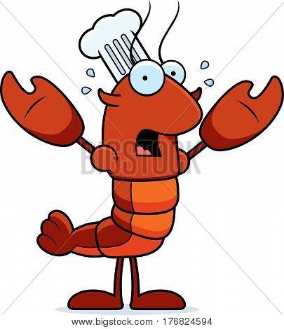 Scared Crawfish Chef