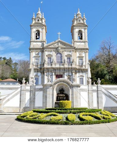 particular of the churchyard of the bom jesus sanctuary