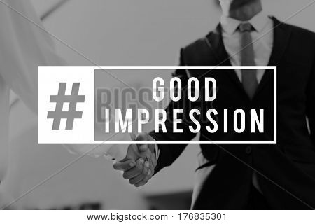 Good Impression Business Meet Interview Communication