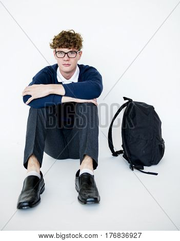 Depressed student torturing from school bullying