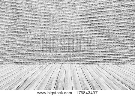 Wood Terrace And Fabric Texture