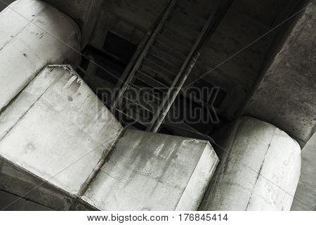 Concrete Bridge Span Bottom Fragment