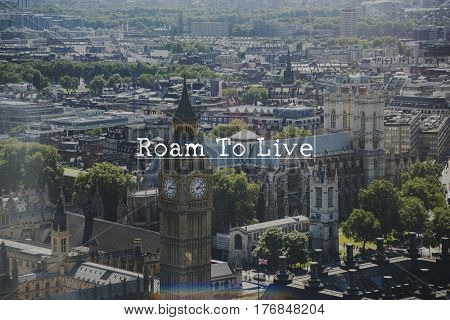 Roam Live Destination Journey Travel Trip