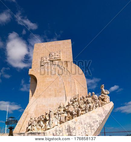 Padrao dos Descobrimentos aka Monument to the Discoveries in Belem Lisbon Portugal