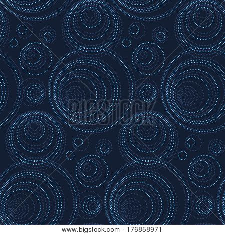 luxury abstract seamless pattern. modern dot and spot surface design for wrapping paper, wallpaper, fabric and fashion