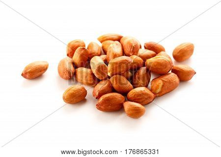 Pile Of Fresh Dried Peanuts