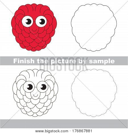 Drawing Worksheet Children, Easy Vector & Photo | Bigstock