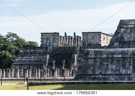 Mexico maya yucatan Chichen Itza old ruins ancient