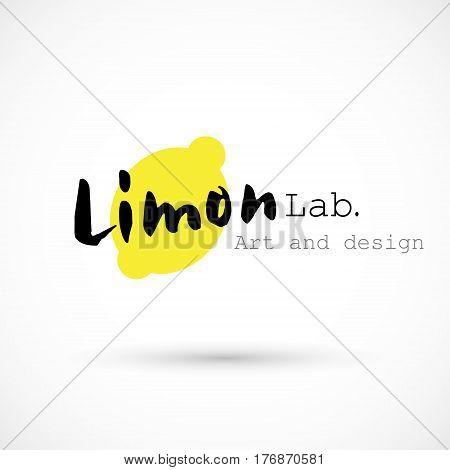 Limon logo yellow art creative design agency