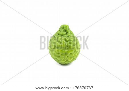 Bergamot  Isolated On White Background