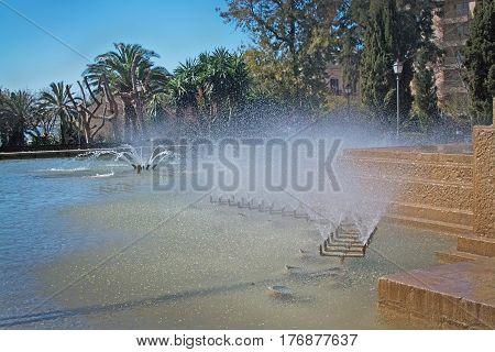 Feixina Park Fountain