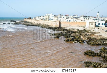 Essaouira, Old  City In Morocco