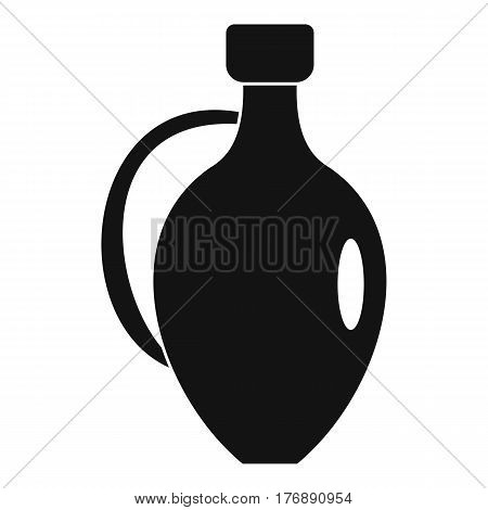 Clay jug icon. Simple illustration of clay jug vector icon for web
