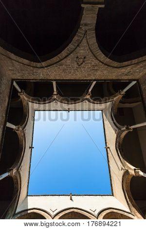 Inside Of Palazzo Chiaramonte - Steri In Palermo