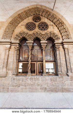 Window Of Palazzo Chiaramonte - Steri In Palermo