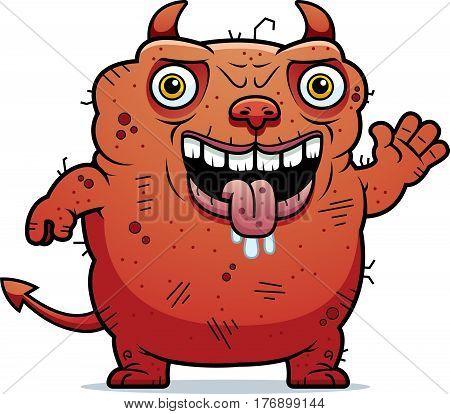 Ugly Devil Waving