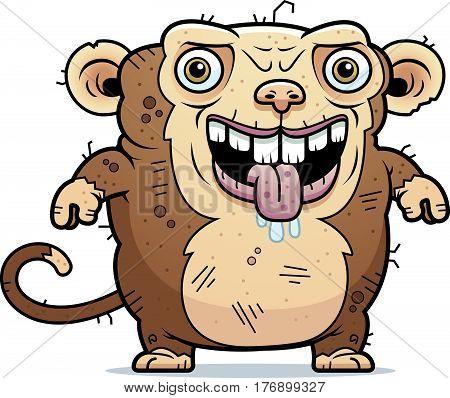 Ugly Monkey Standing