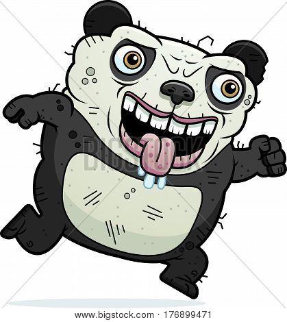 Ugly Panda Running