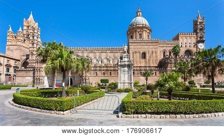 View Of Palermo Cathedral