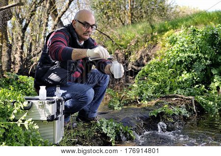 Environmental Pollution Study Of A Water Course