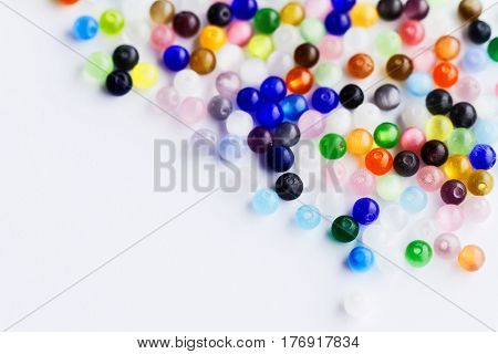 Shining Multicolored Beads