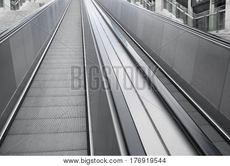 outdoor escalator