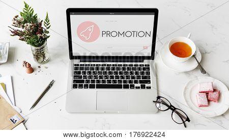 Promotion New Business Launch Plan Concept