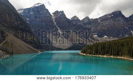 Moraine Lake in Summer, Banff National Park