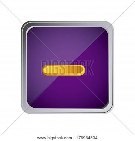 button volume down background purple vector illustration