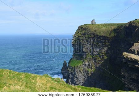 Gorgeous viwe of ireland's Cliff's of Moher in Ireland.