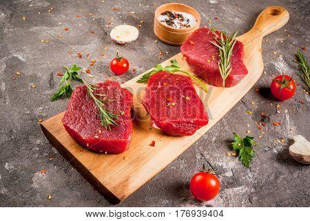 Fresh Raw Unprepared  Beef Meat