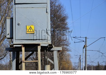 A Small Substation For The Supply Of Electricity