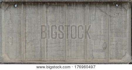 Close-up Weathered And Stained Obsolete Concrete Wall Texture