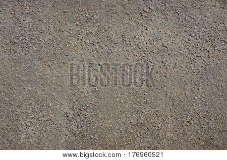 Texture Of Dirty And Gloomy Gray Asphalt
