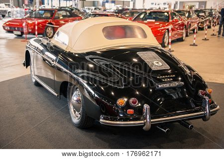 Verona Italy - May 9 2015: The municipality of Verona organizes a free gathering of sports and antique cars. Are exposed the most beautiful cars in the world.